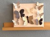 DIY-Paper- Butterflies – oder – Jede MengeSchmetterlinge