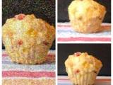 Ein Bild von einem Muffin ;-)  – oder –  Pikante Schafskäse-Muffins