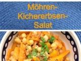 In the summertime : Salate zum Sattessen – oder – 3. Möhren-Kichererbsen-Salat