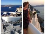 Teil 1 : Sonnenstrahlen sammeln für Herbst und Winter  – oder – Wie ein Santorini-Urlaub abenteuerlich  beginnt, aber gutendet