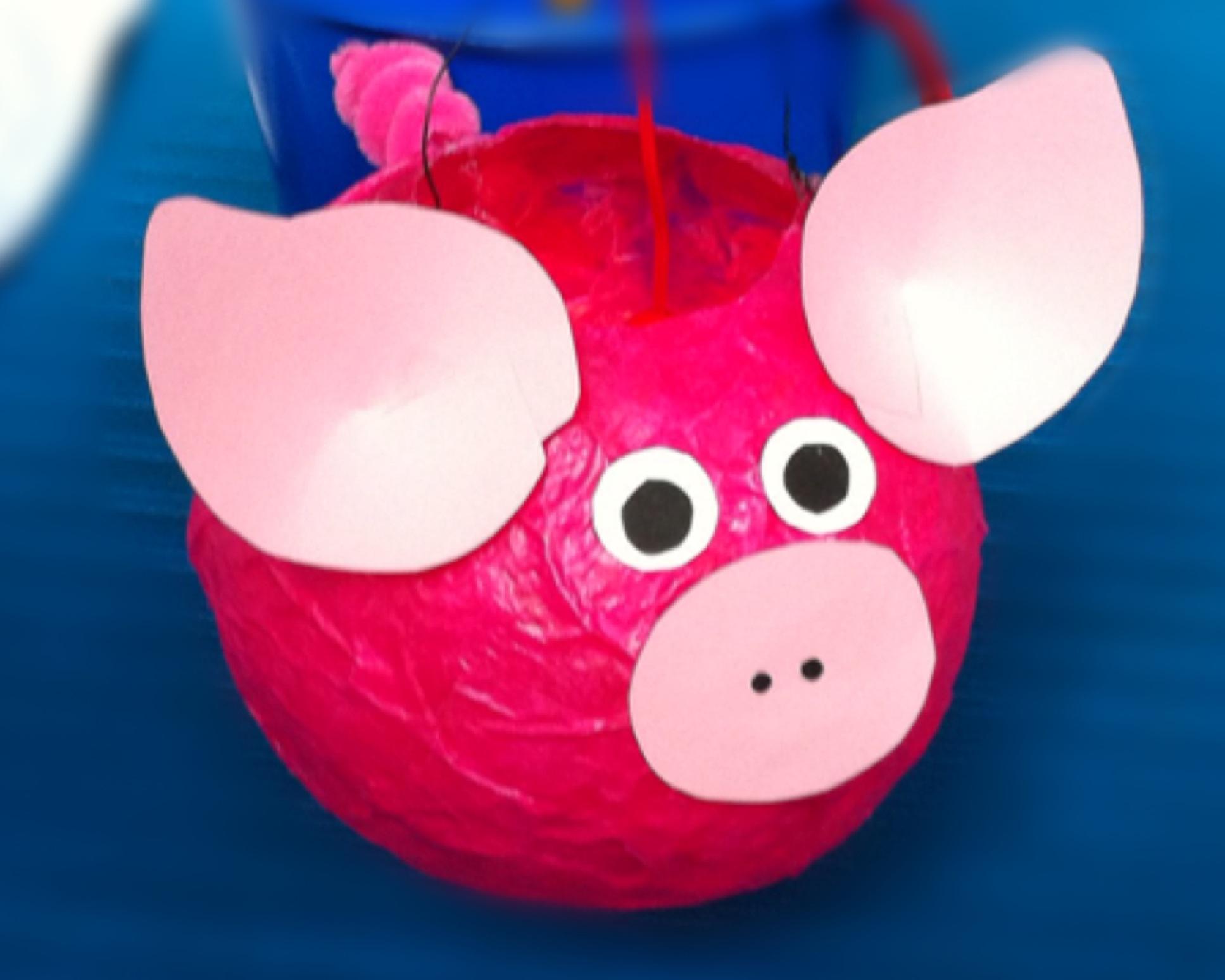 laterne laterne sonne mond und schweinchen oder wie aus einem luftballon mr pig wird. Black Bedroom Furniture Sets. Home Design Ideas