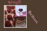 Biwyfi: Braun – oder – Schokoladige Verführung: Muffins a làSachertorte