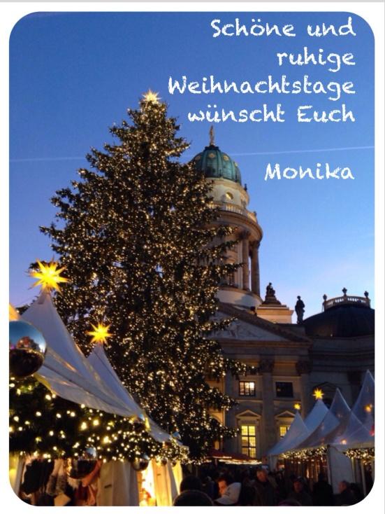 Weihnachten auf dem Gendarmenmarkt in Berlin