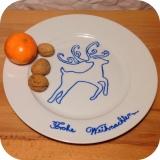 Advents-Kalender bei Frollein Keks – oder – Porzellan im Weihnachts-Outfit
