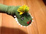 Die Geschichte vom kleinen grünen Monster – oder – Ich war eineTennissocke