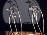 Herr L. auf Picassos Spuren – oder – Das kommt mir drahtigvor