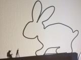 Dieser Hase ist auf Draht – oder – My first Easterbunny