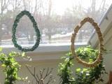 """""""Welcome Easter""""-Weeks -oder –  Draht und Stoff =Ei"""