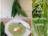 Es grünt so grün… – oder –  Junges Gemüse # 1 :Zartgrünes Bärlauchsüppchen