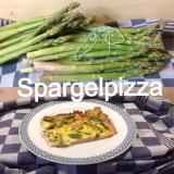 Young Spring vegetables # 2 – oder – Spargelpizza, der Quickie unter den Spargelgerichten ;-)
