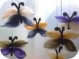 Märchenhafte Schmetterlinge – oder – Schmetterlinge ausMärchenwolle