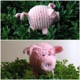 Piggy Rose – oder – GehäkelteFerkelei