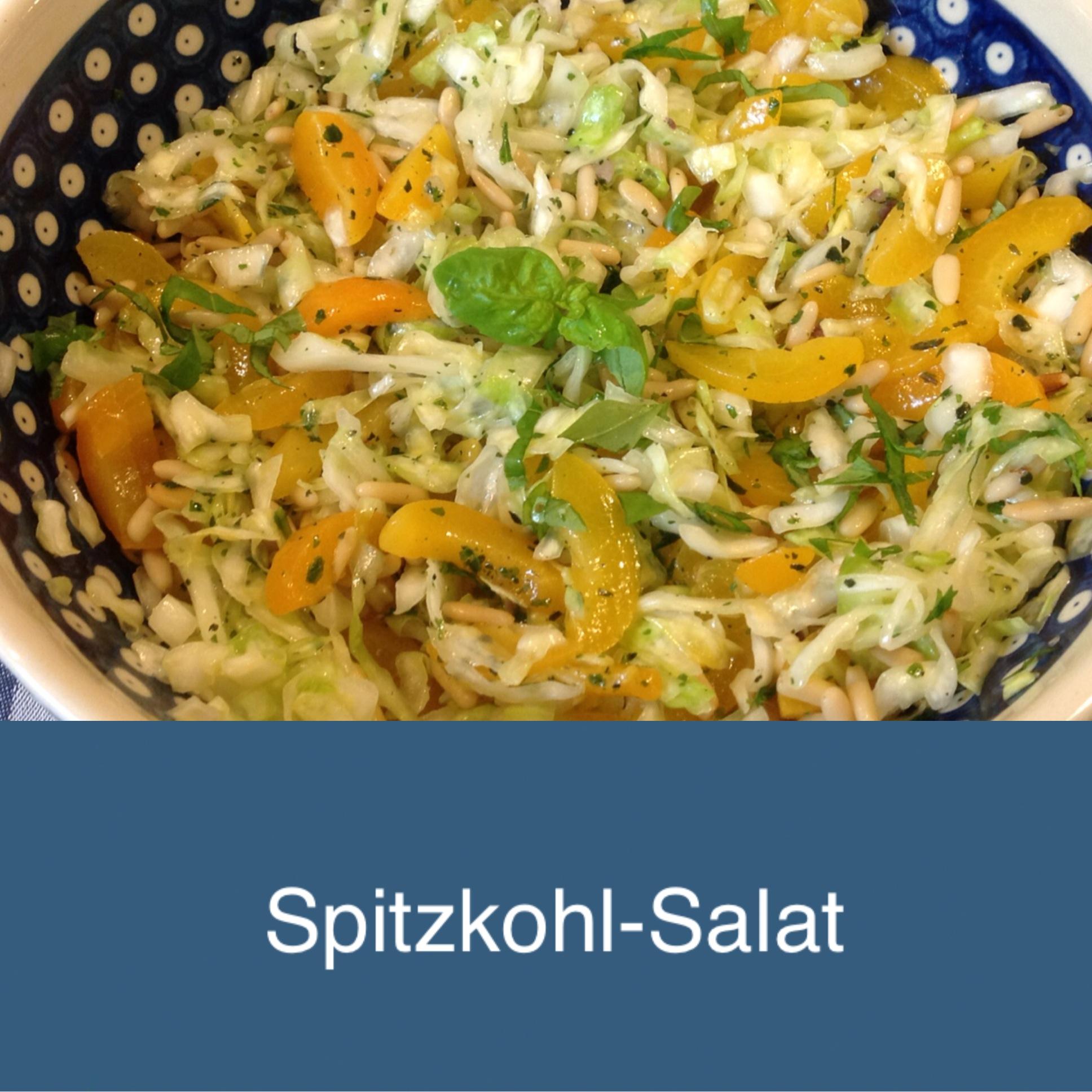 Wie mich der Spitzkohl happy machte -oder – Ich freu mich über den Spitzkohlsalat