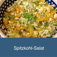 Wie mich der Spitzkohl happy machte -oder - Ich freu mich über den Spitzkohlsalat