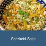 Wie mich der Spitzkohl happy machte -oder – Ich freu mich über denSpitzkohlsalat