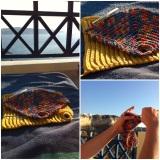 Crochet with Caldera-View  – oder – My woolen pullover has towait