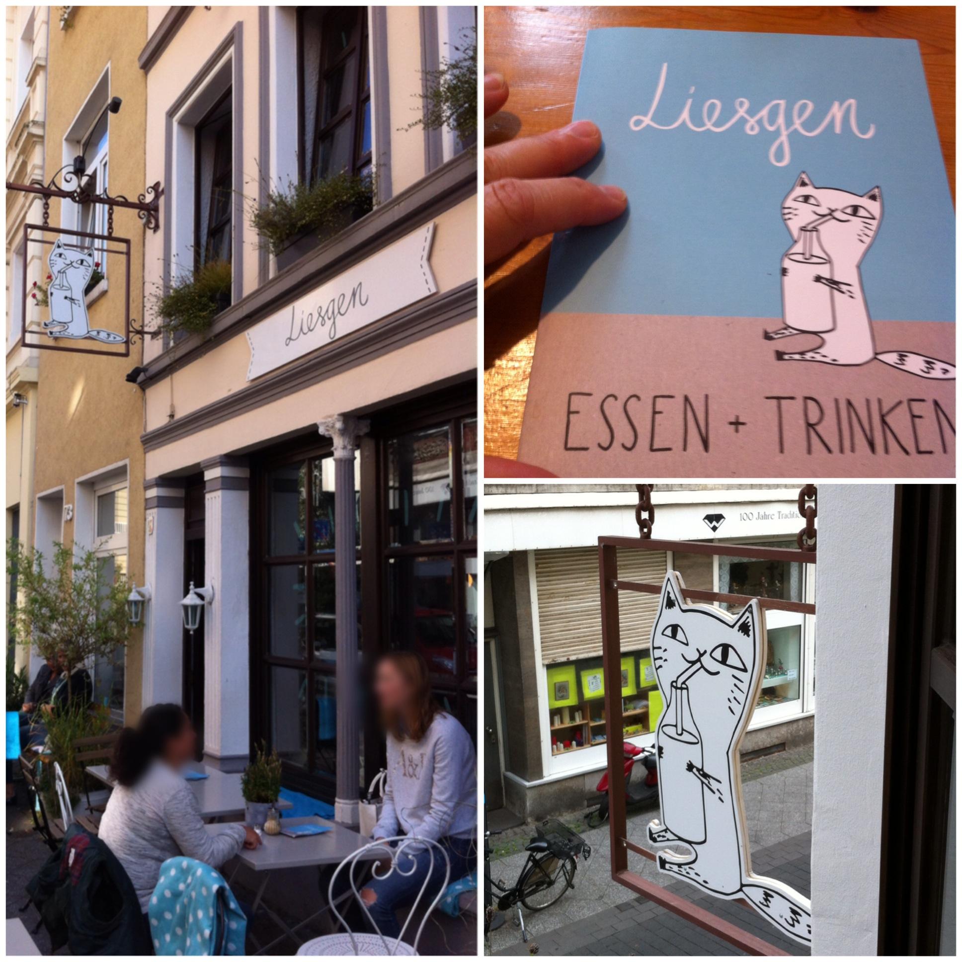 Das Liesgen – oder – Klein, aber oho! Das Cafe Liesgen in Krefeld