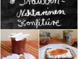 Die mag ich: Trauben-Nektarinen-Konfitüre – oder – Autumn meetsSummer