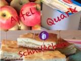 Ich back's mir im September: Apfelkuchen – oder – Na, das nenn ich mal einSchnittchen