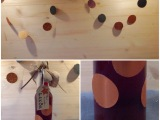Post aus meiner Küche # 4 –  oder – 🎄Kirsch-Amaretto-Likör,lecker und schnell. Da bleibt sogar noch Zeit zum Girlande-Basteln