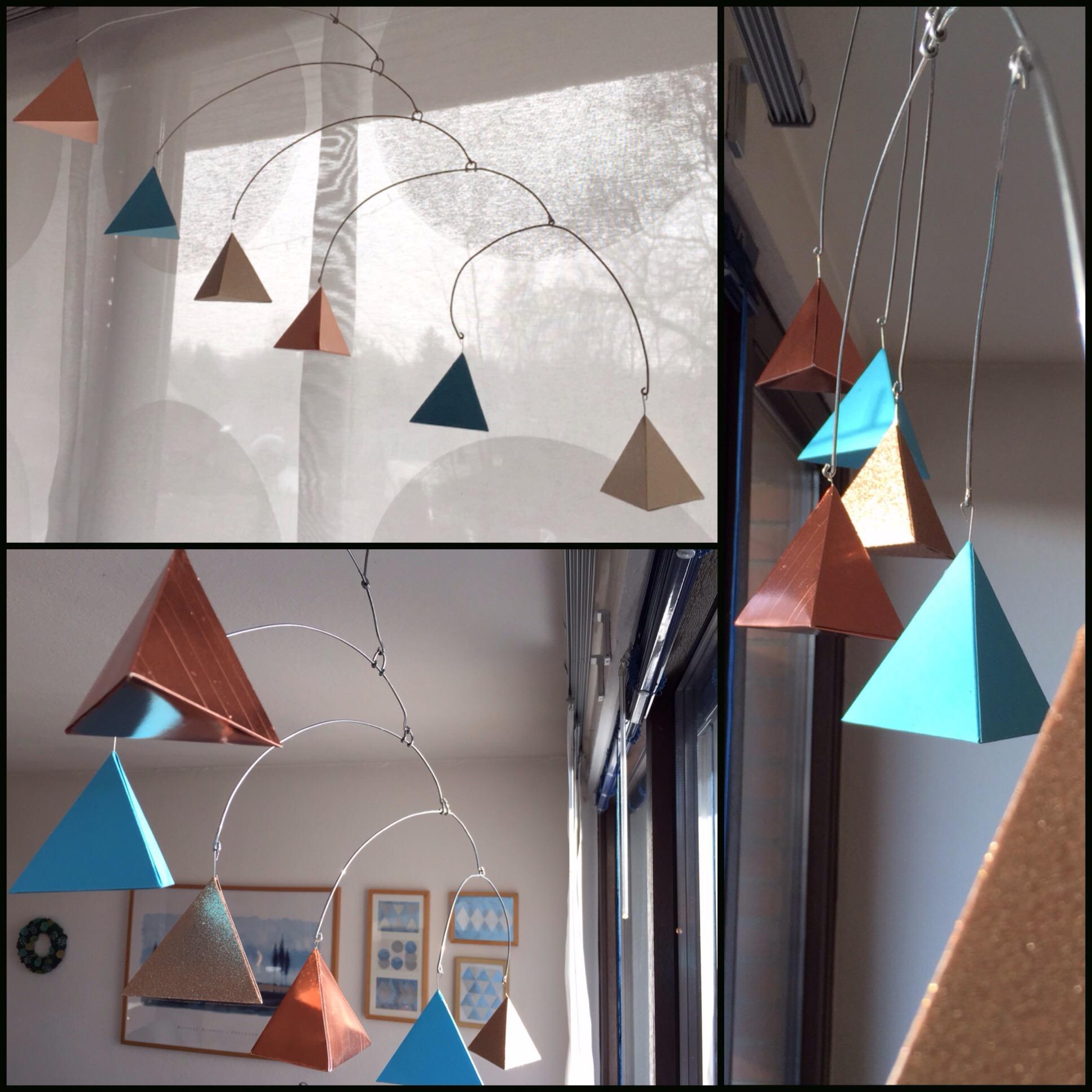 von tetrahedrons und matroschkas oder mobile pyramiden. Black Bedroom Furniture Sets. Home Design Ideas