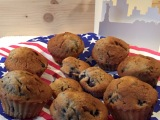 Breakfast in America: Blueberry-Muffins – oder – Die gehen morgens, mittags,immer