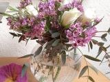 Friday-Flowerday – oder – Was man mit einem Bund Moosröschen machenkann