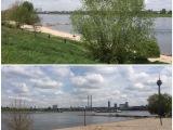 Nach der Kultur in die Natur – oder – Darum ist es am Rhein so schön