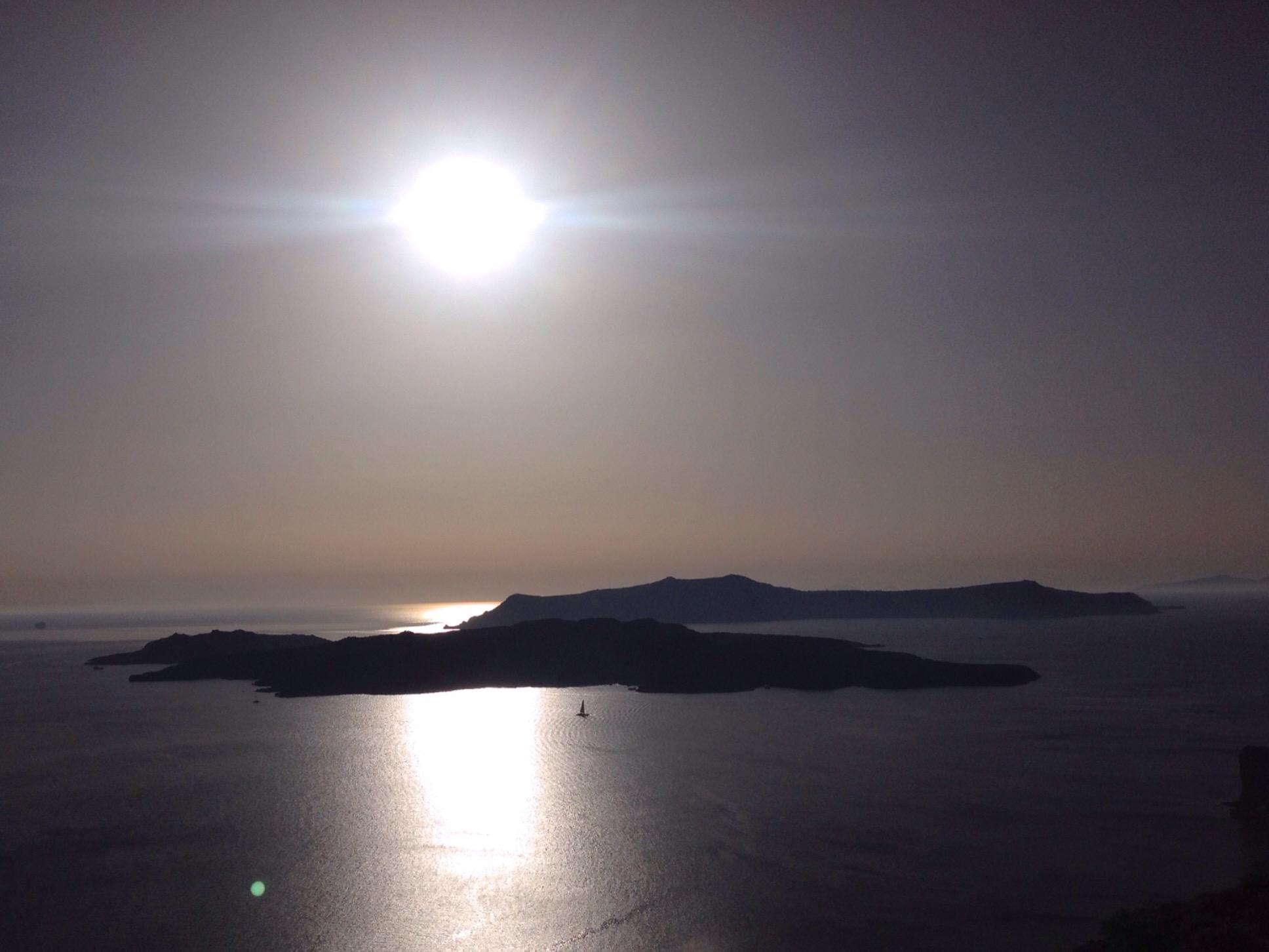 Mein Photo der Woche #39 – oder – Grüße von Santorini