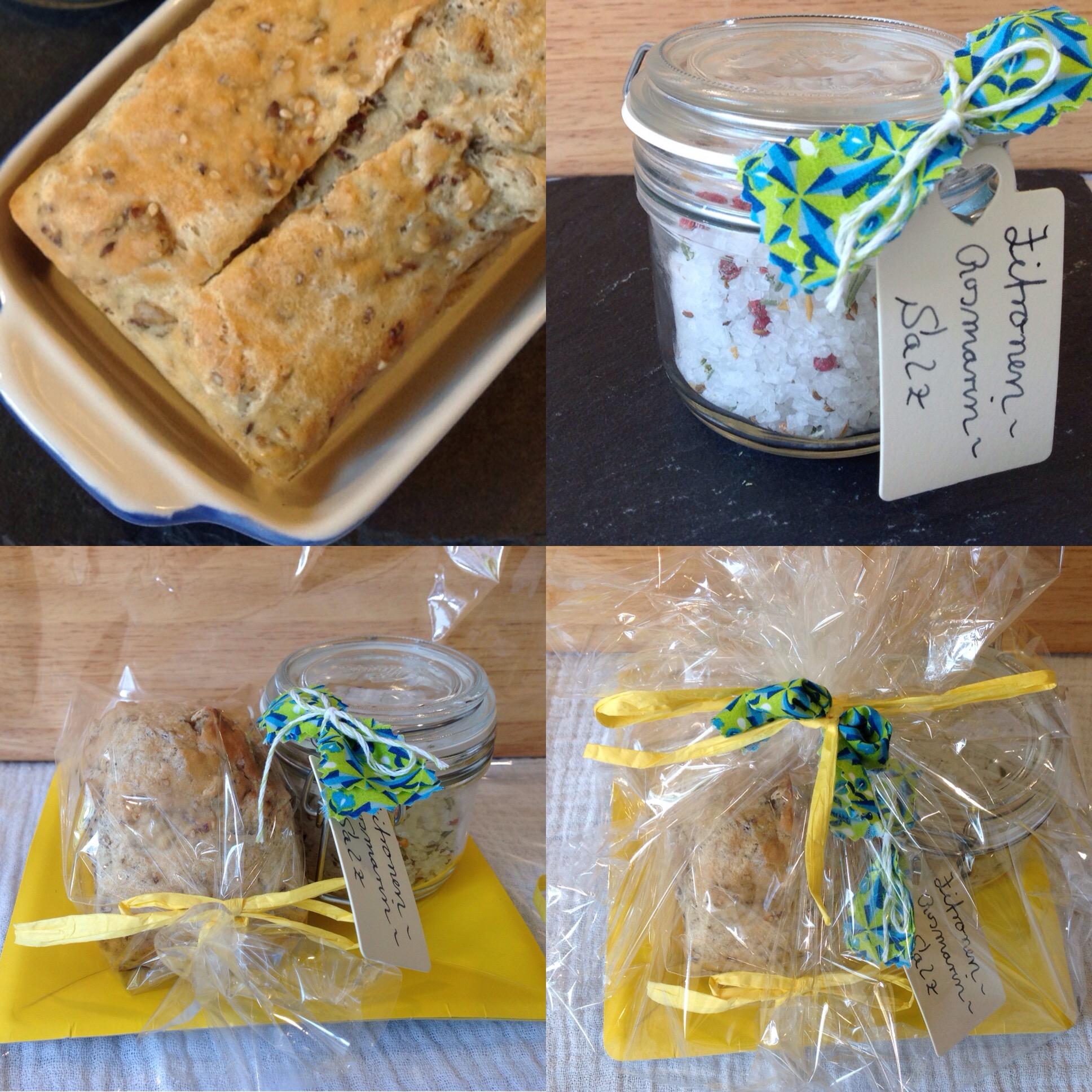 Ein Geschenk Zum Einzug Brot Und Salz Oder Gewürzsalze