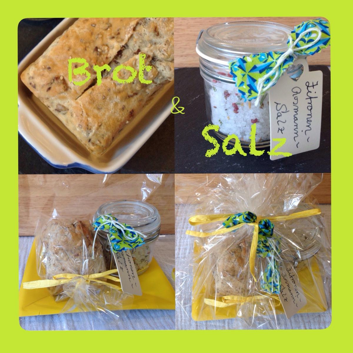 Ein Geschenk zum Einzug: Brot und Salz - oder - Gewürzsalze selbstgemacht