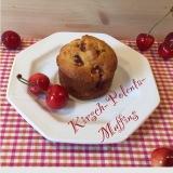Ich back's mir: Kirsch-Polenta- Muffins – oder – Kirschen, vom Baum in denOfen