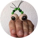 Eine kleine Schlange macht ganz große Augen – oder – Perlenaugen fürFingerspiele
