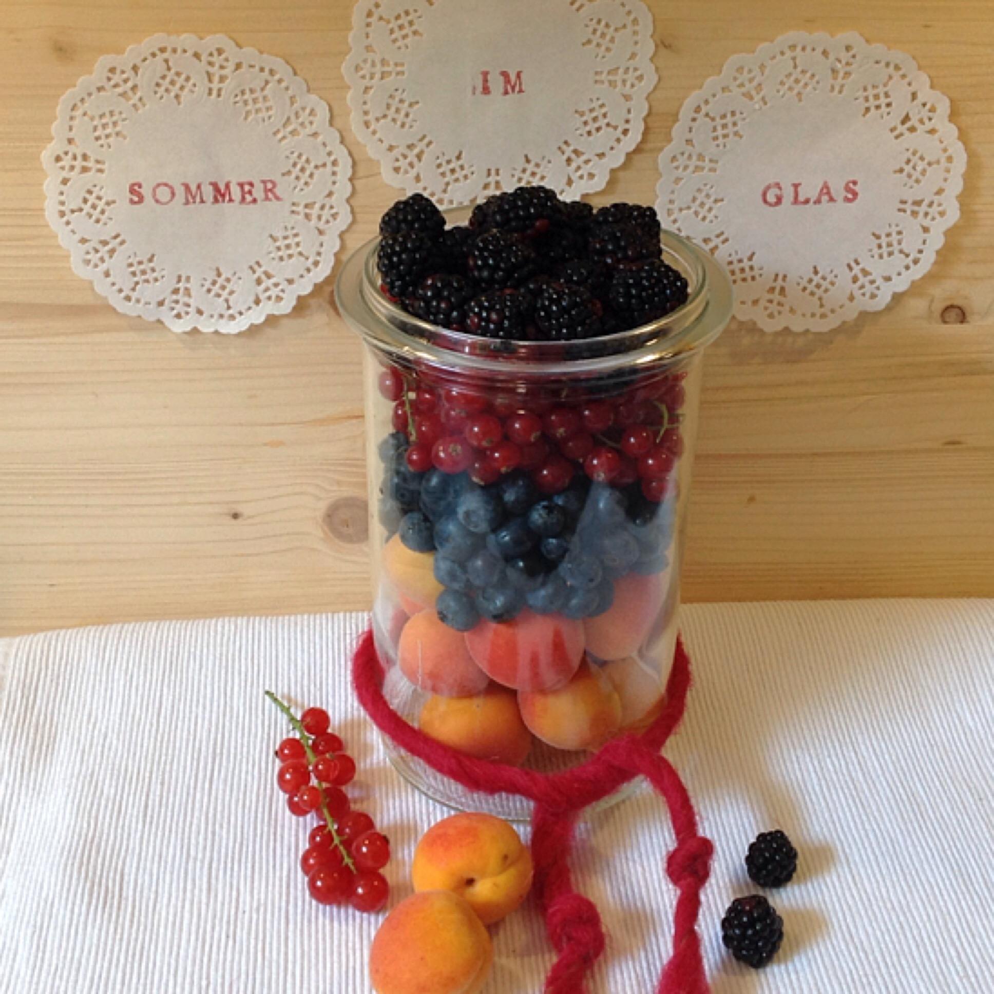 Sommer im Glas #2 – oder – Fruchtiges im Tauschpaket