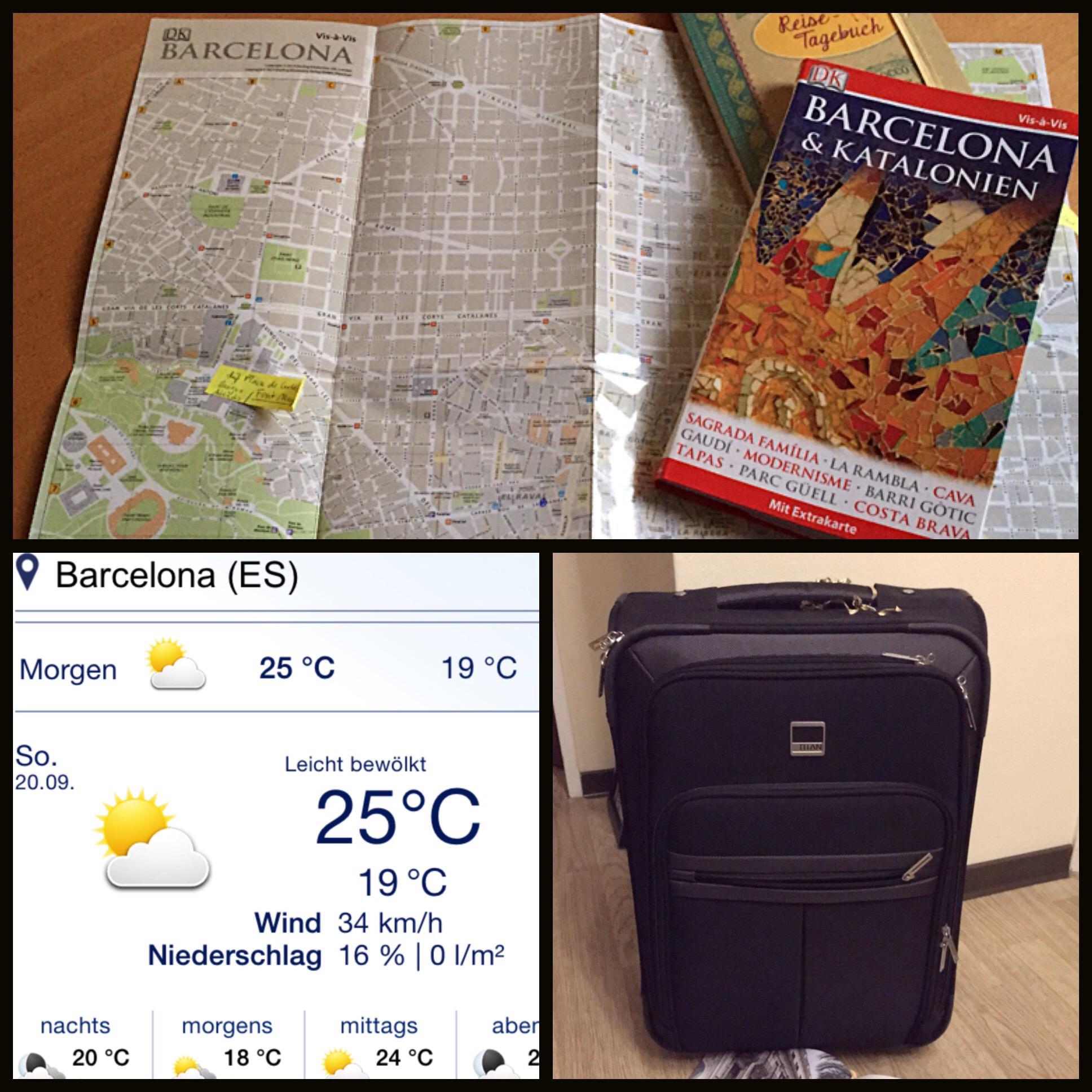Freutag: Auf nach Barcelona – oder – Ich bin dann mal weg