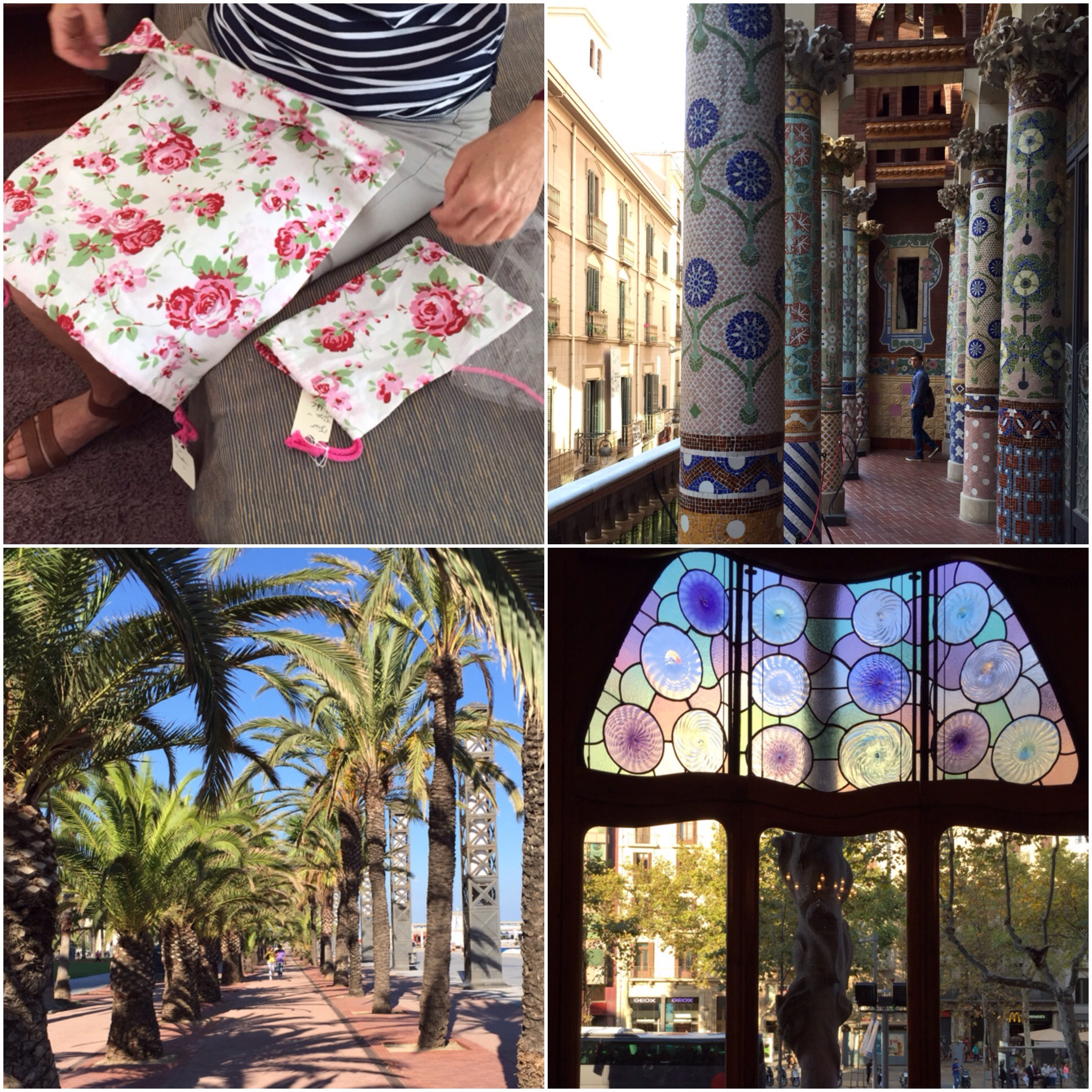 Ein kreatives Mitbringsel – oder – Hola Barcelona: Teil 3
