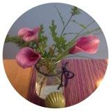 Flower-Friday – oder – Lila, Calla,Herbst