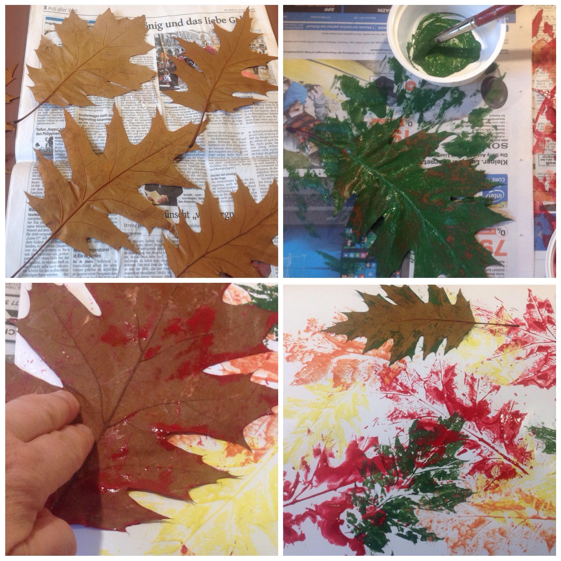 Vom Stacheligen Igel Und Bunten Blättern Oder Herbstliches
