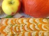 Große Kürbisliebe – oder – Kürbis, nicht nur als Süppchen toll: Pizza mit Kürbis undApfel