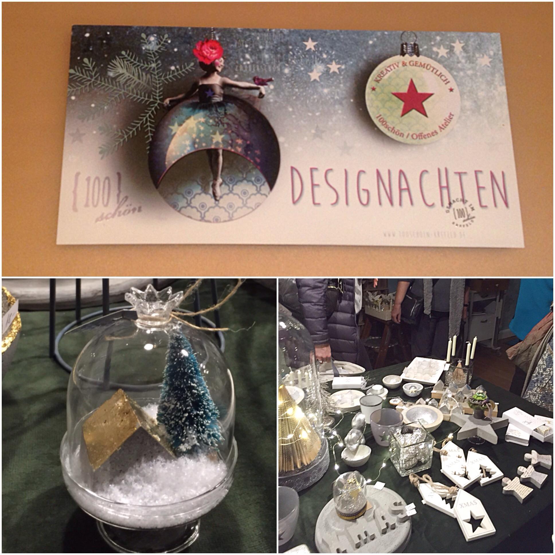 Ein Abend Weihnachten – oder – Designachten im {100}schön
