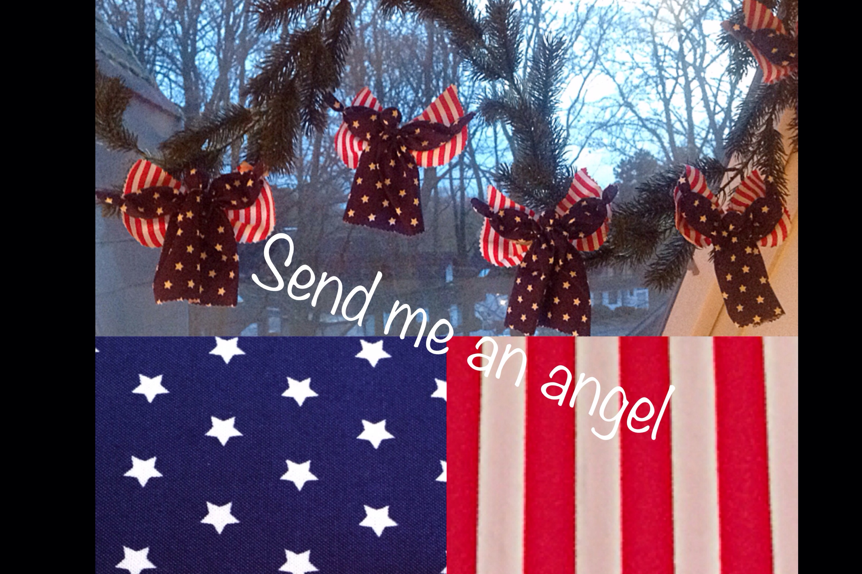Send me an angel,… – oder – Meine Engel tragen Stars and Stripes