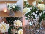 Friday-Flowerday – oder – Weiße Röschen alsSolisten