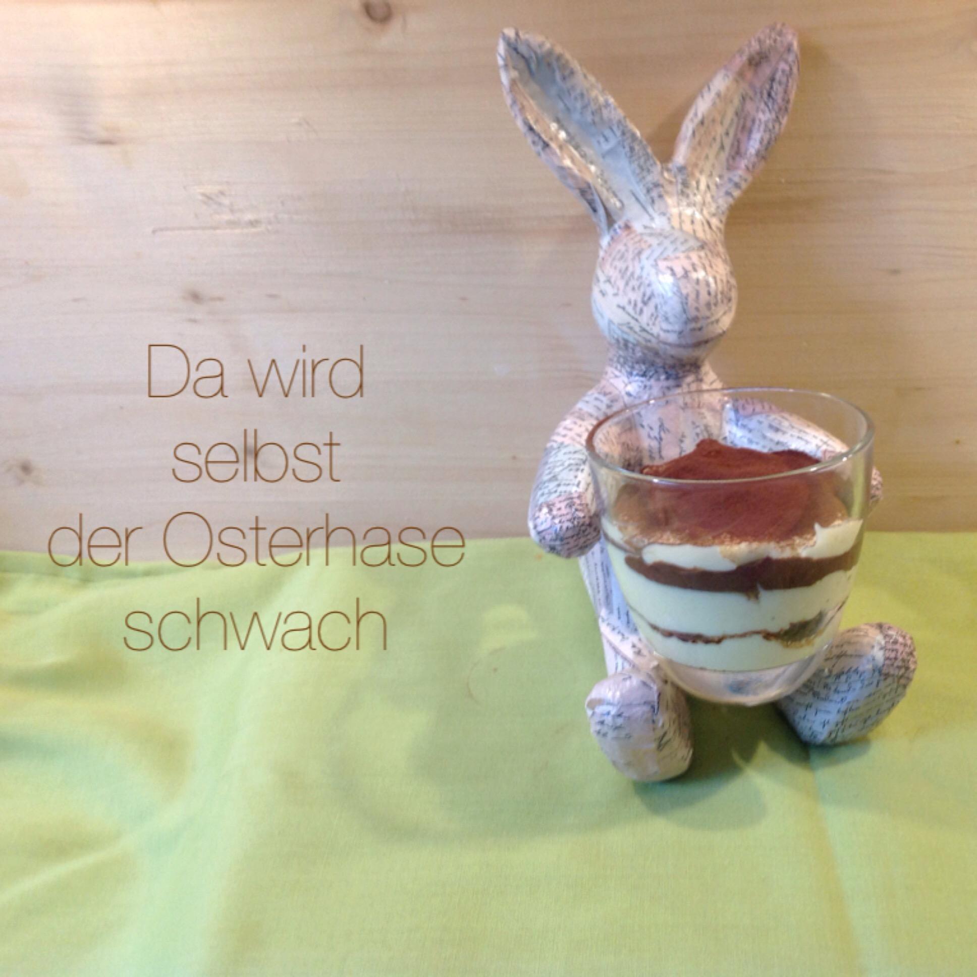 Von Has und Huhn #2 – oder – Schichtdessert zu Ostern | Lilamalerie.de