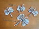 Schmetterlinge aus Papier – oder – Zuwachs für zweiSchmetterlinge