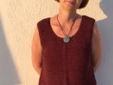 Premiere auf Santorini – oder – Leichte Maschen, luftiggestrickt