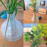 Friday-Flowerday – oder – Viel Vase und ein wenigGrün