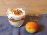 Ein Gruß aus der Küche #2 – oder – So lecker: Aprikosen-Quark-Trifle