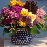 Friday-Flowerday – oder – Alles so schön bunthier