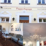 One hour away only – oder – Das Cafe Papperlapapp