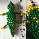 Perlenkrokodil-reloaded – oder – Geschickt aufgefädelt: Ein Krokodil ausPerlen